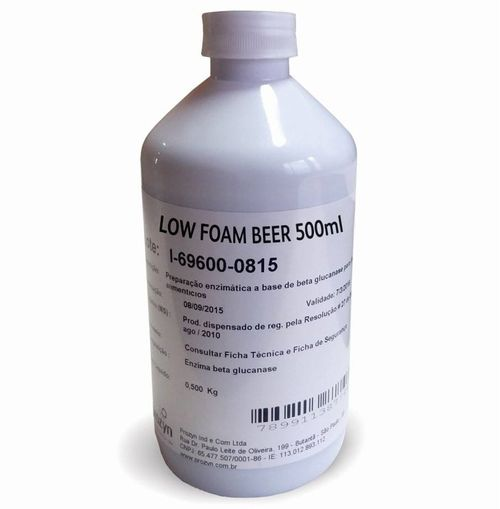 Coadjuvante Low Foam Beer - 500ml