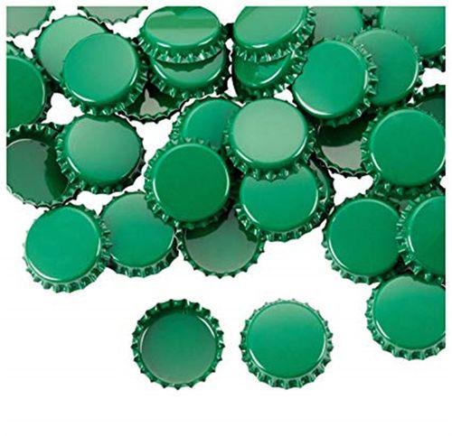 Tampinha Metálica Verde (Pry-Off)