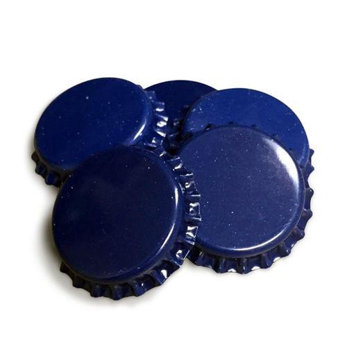 Tampinha Metálica Azul (Pry-Off)