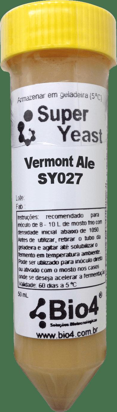 Fermento Líquido Bio4 Vermont Ale - SY027