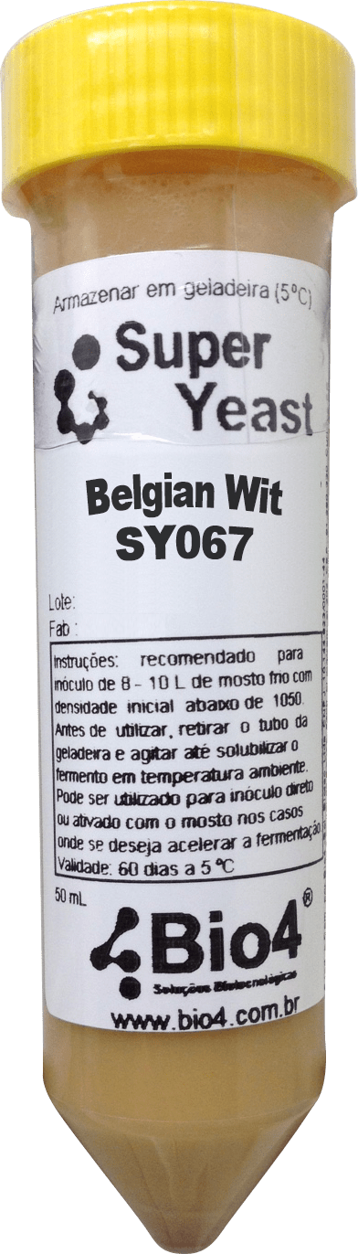 Fermento Líquido Bio4 Belgian Wit - SY067